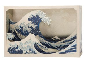 Tatebanko - Great Wave off Kanagawa