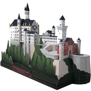 Neuschwanstein Castle Paper Diorama