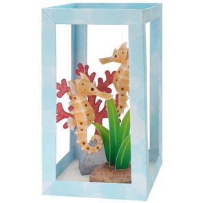 Seahorse Aquarium Paper Diorama